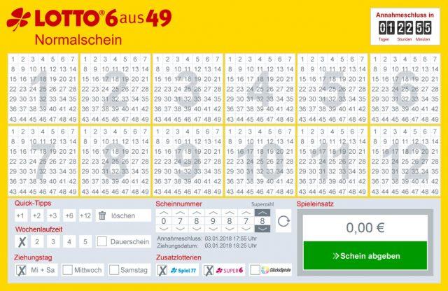 lottobay Tippschein